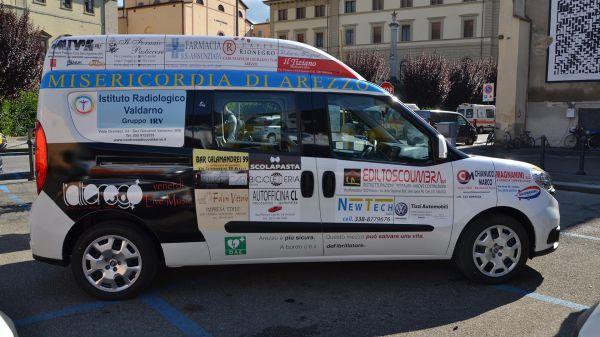 Consegna Fiat Doblò Associazione Misericordia Arezzo
