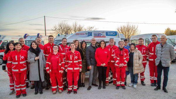 Consegna Fiat Doblò Comitato Croce Rossa Comitato Assisi