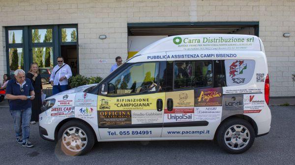 Consegna Fiat Doblò Pubblica Assistenza Campi Bisenzio