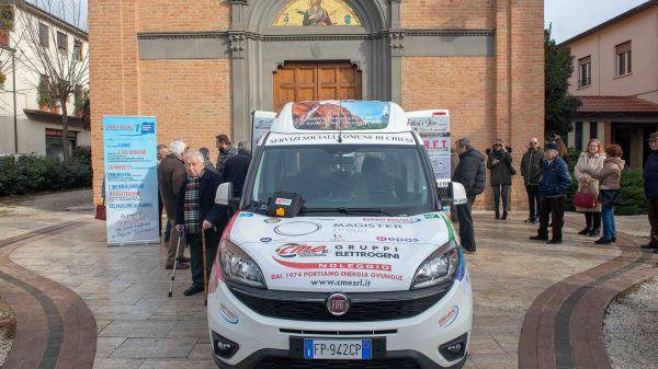 Consegna Fiat Doblò Associazione Auser Chiusi