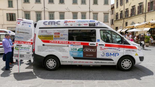 Consegna Ford Custom Croce Rossa Città di Castello