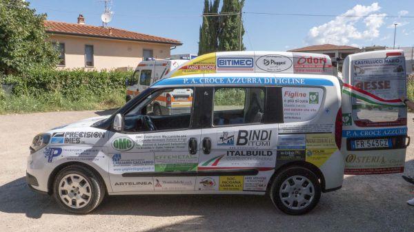 Consegna Fiat Doblò Ass. Croce Azzurra Figline Valdarno