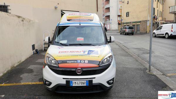 Consegna Fiat Doblò Ass. Pubblica Assistenza Humanitas Firenze