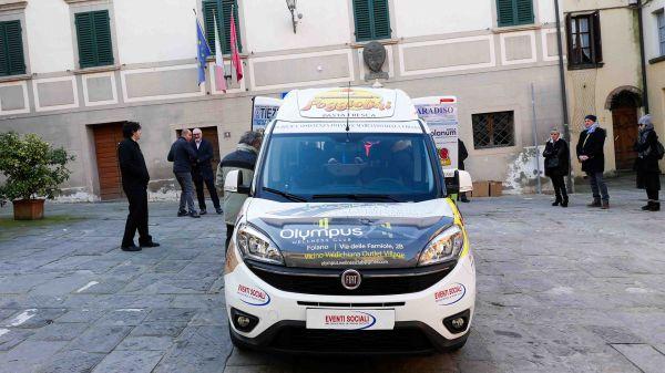 Consegna Fiat Doblò Ass. Pubblica Assistenza Avis Foiano della Chiana