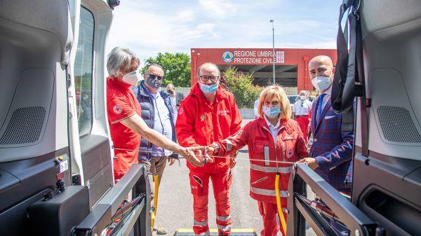 Nuovo Fiat Doblò per la Croce Rossa Comitato Foligno