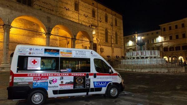 Consegna Peugeot Expert Comitato Croce Rossa Perugia