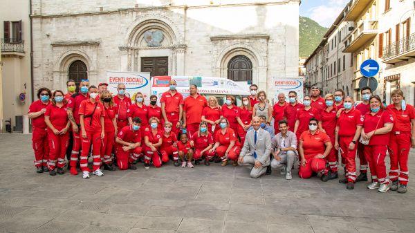 Nuovo Fiat Doblò al Comitato Croce Rossa Gualdo Tadino