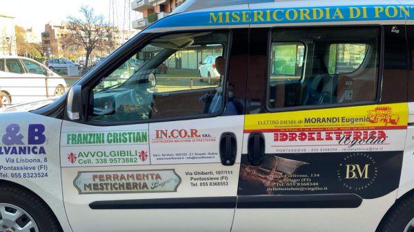 Consegna Fiat Doblò Misericordia di Pontassieve
