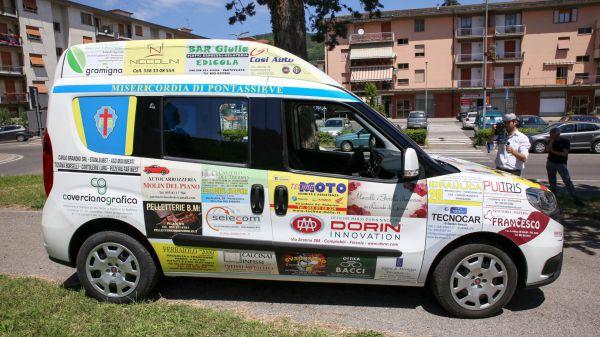 Consegna Fiat Doblò Associazione Misericordia Pontassieve