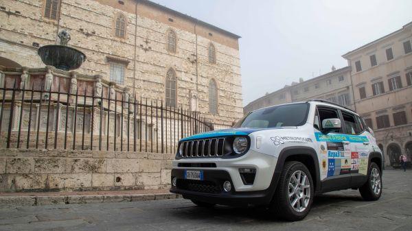 Consegna Jeep Renegade Protezione Civile Perugia