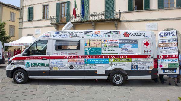 Consegna Volkswagen Crafter Croce Rossa San Giustino