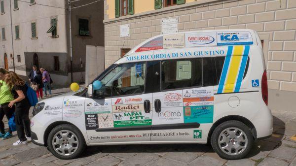 Consegna Fiat Doblò Misericordia San Giustino Valdarno