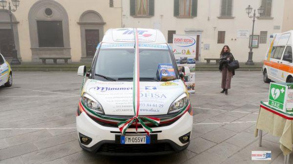 Consegna Fiat Doblò Associazione Misericordia Scarperia