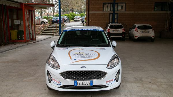 Consegna Ford Fiesta Ass. Auser Comunale Siena