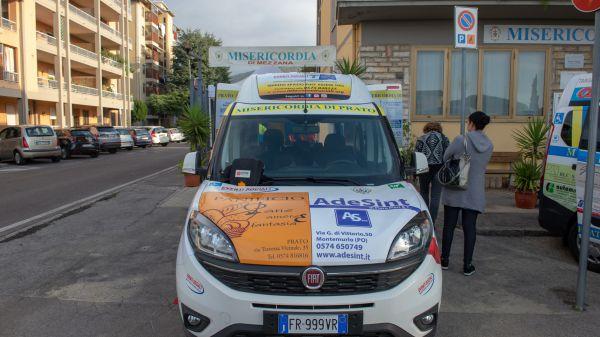 Consegna Fiat Doblò Associazione Misericordia Mezzana
