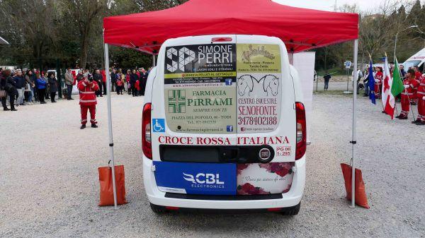 Consegna Fiat Doblò Croce Rossa Comitato di Todi